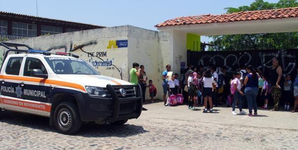 Autoridades de Puerto Vallarta ponen en marcha operativo de seguridad escolar