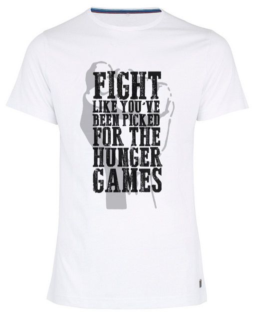 Hunger Games graphic design t-shirt