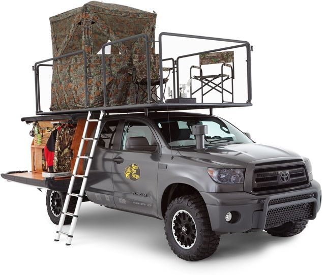 Not for hunting but I would love it for general camping and to have a roof top lounge on my truck!