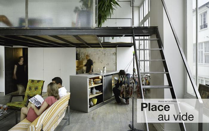 loft avec mezzanine architectures vivre id es pour la. Black Bedroom Furniture Sets. Home Design Ideas