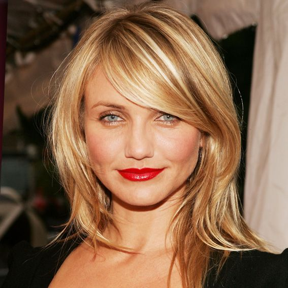Cameron Diaz hair + makeup