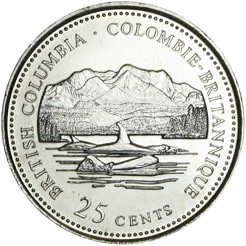 Canadian Coin Collection: British Columbia 1992 – …