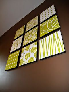 lots of varieties--actually do this for wall art with a shoebox lid