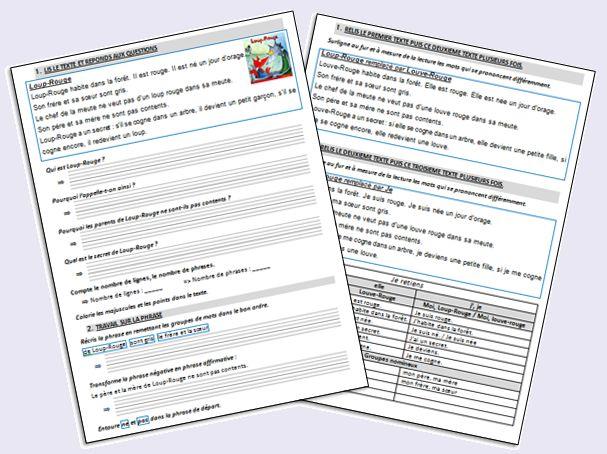 100 ideas to try about faire de la grammaire au ce1 un 2 and ps - Grammaire ce1 a imprimer ...