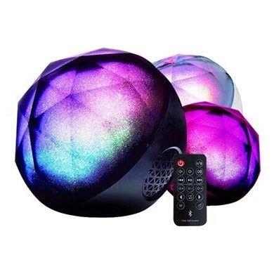 Magic Color Ball Bluetooth Speaker Wireless Speaker-Fancy. The modern day disco ball.