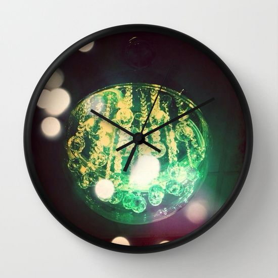 UFO+ORB+Wall+Clock+by+Parastar+Arts+-+$30.00