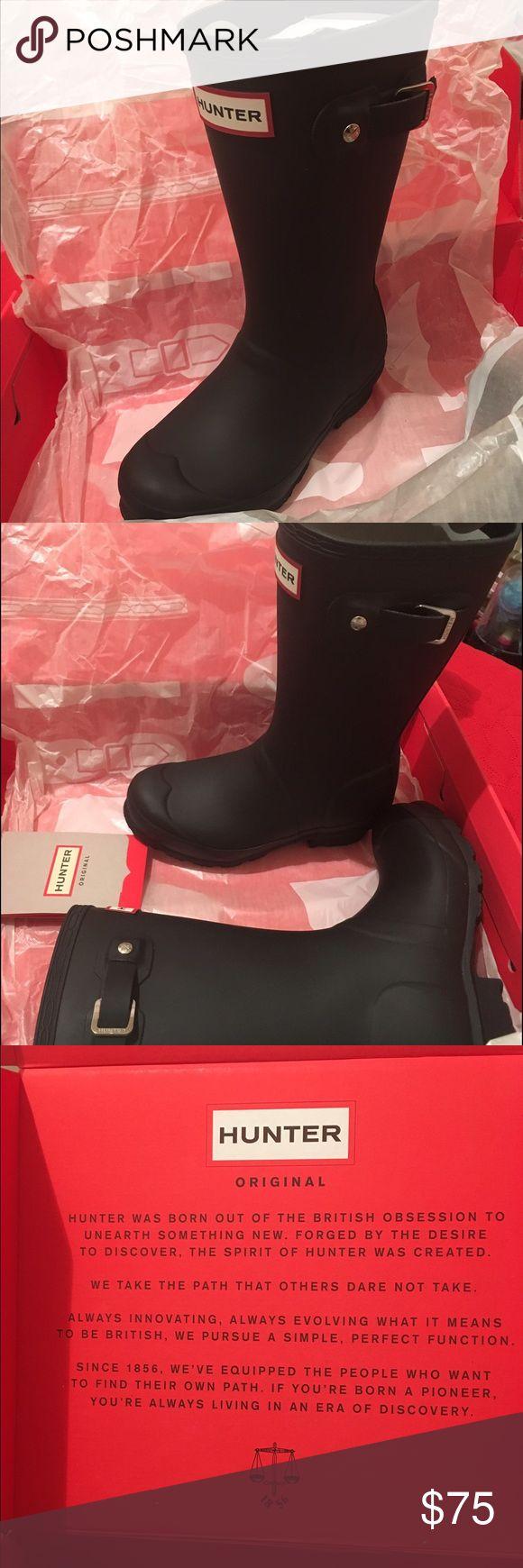 Little kids hunter rain boots, size 13. Black hunter rain boots, size 13. Hunter Boots Shoes Rain & Snow Boots