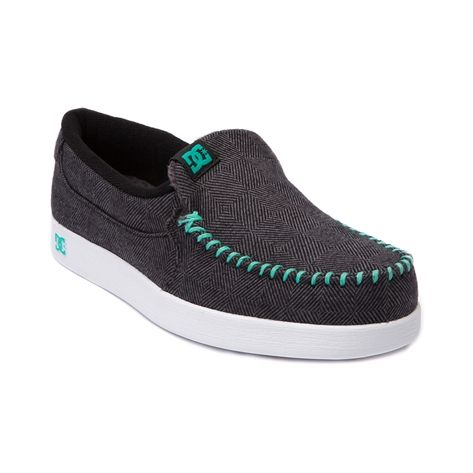 Shop for Womens DC Villain TX Skate Shoe in Black Seafoam at Journeys Shoes. Shop today for the hottest brands in mens shoes and womens shoes at Journeys.com.This Villains your friend, DC slip-on style skate kick with a herringbone canvas upper, moc toe, elastic gore for easy on-and-off, and double-stitching for durability. Available online only at Journeys.com! Available to ship in September; preorder yours today!