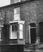 The former home of Moors murderer Ian Brady in Westmorland Road, Longsight, Manchester,1st November 1965. (Photo by Evening Standard/Hulton Archive/Getty Images)