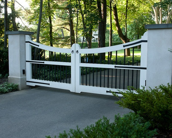 326 Best Driveway Gates Images On Pinterest Wooden Gates