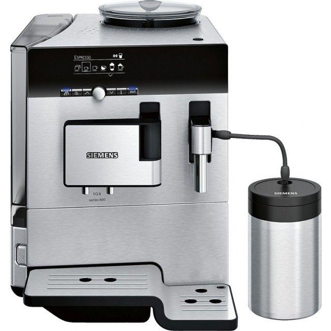 Siemens Kaffemaskin TE806201RW EQ8 Helautomatisk kaffemaskin