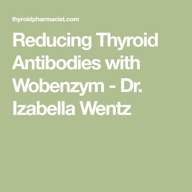 Reducing Thyroid Antibodies with Wobenzym - Dr. Izabella Wentz