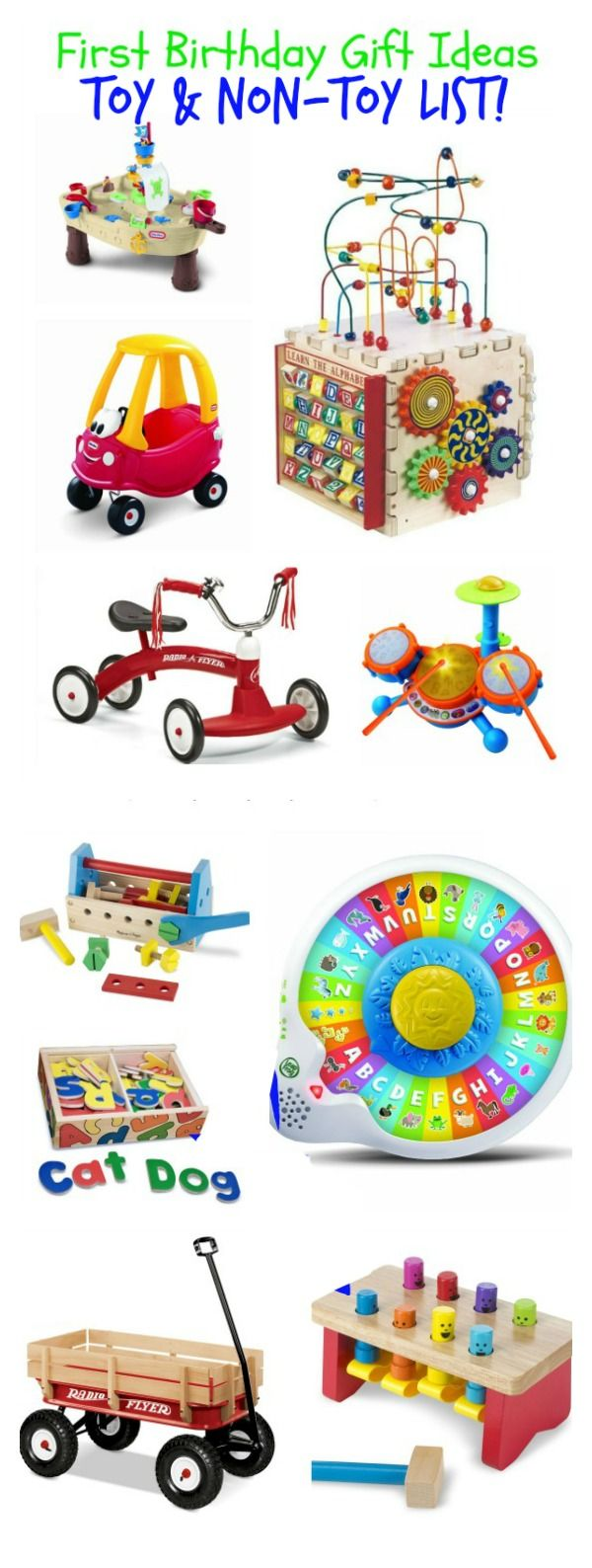 Toys For A 1st Birthday : St birthday gift idea list has toy and non ideas