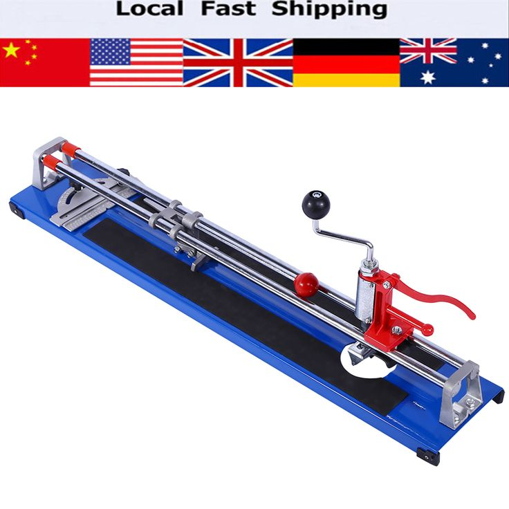 Manual Tile Cutter Ceramic Porcelain Floor Wall Cutting Machine 600MM Hand Tools Portable