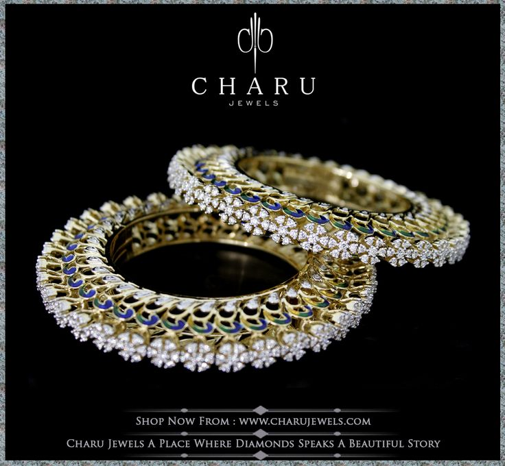 #Splendid #Crafting  #designing from #real #diamond by #charu #jewels