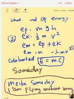 Science dan teknologi: Energi mekanik  (energi kinetik dan energi potensi...