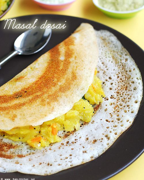 South Indian Masala Dosa - by Raks Anand, via Flickr