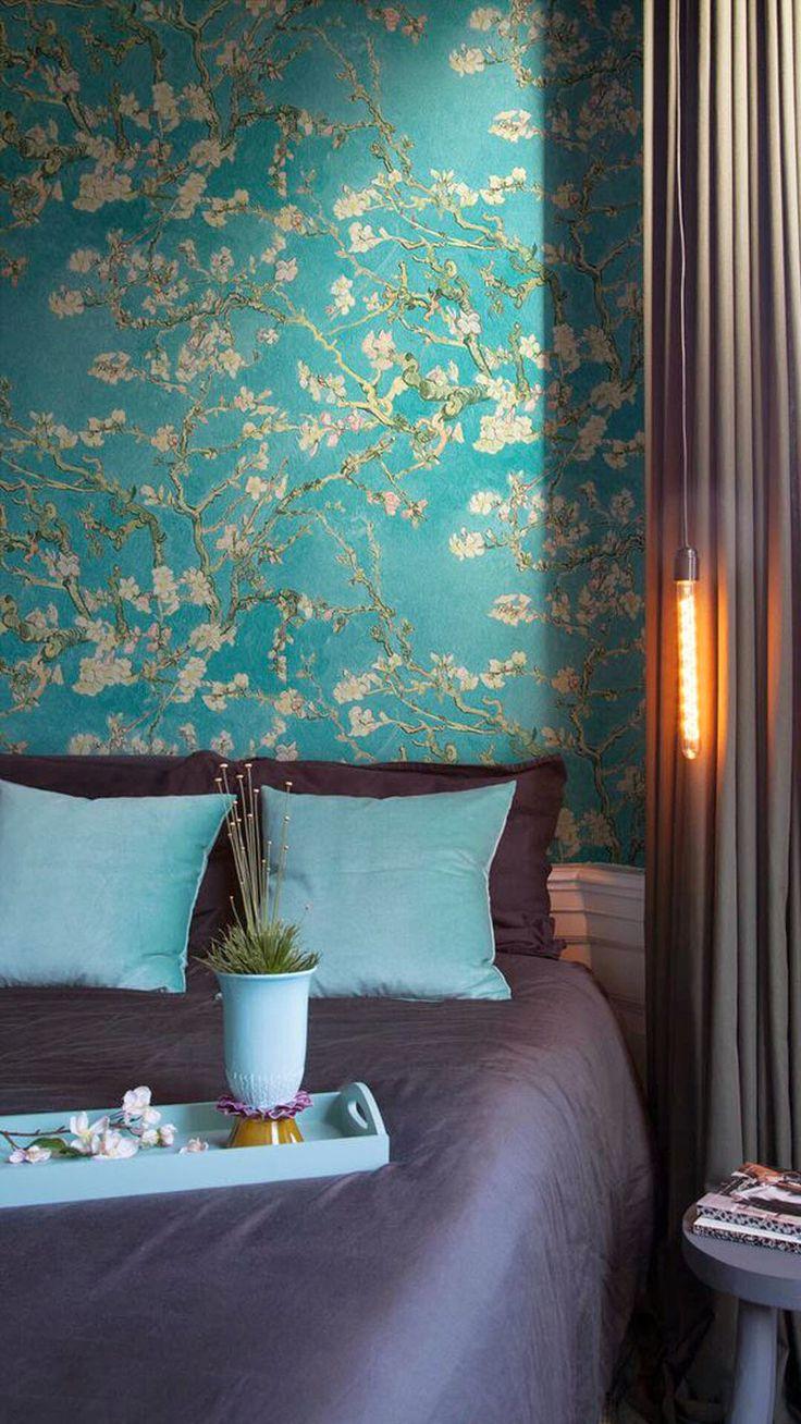 Mooie kleuren voor de slaapkamer Decor, Wall coverings
