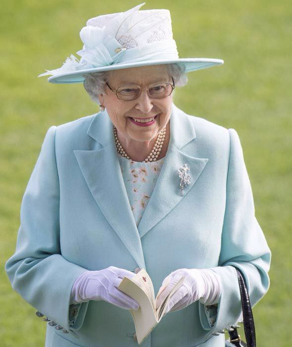 Queen Elizabeth II arrives on Day 3 at Royal Ascot, June 18, 2015. Day 3 is traditionally Ladies Day where some of the largest and more bizarre hats are seen.