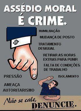 Assédio Moral é crime - http://www.facebook.com/photo.php?fbid=532856386766462=a.461083300610438.117580.461080873944014=1_count=1 - 3573_532856386766462_487692040_n.jpg (280×384)