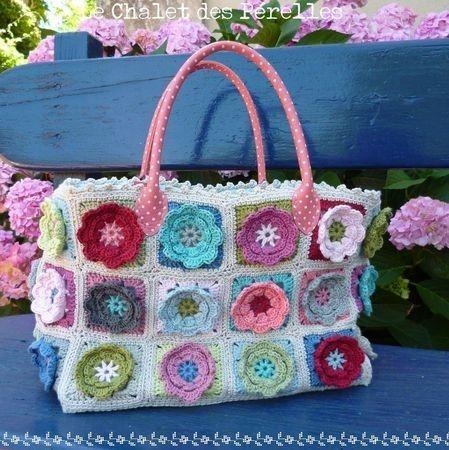 Beautiful Crochet Bags : Beautiful crochet bag Crochet Bags Pinterest