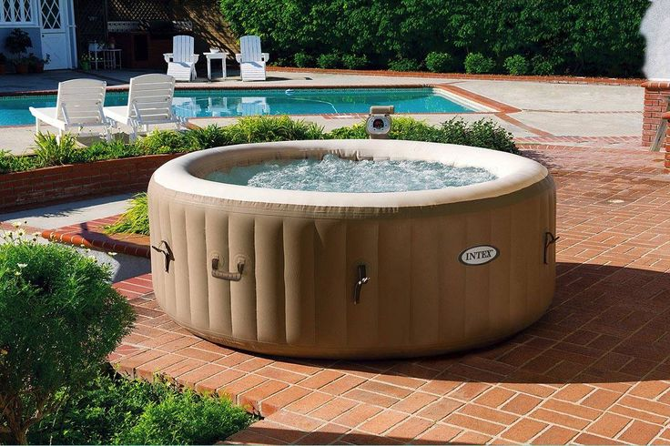Spa Gonflable Rond 4 places - 196 x 71 cm - Intex