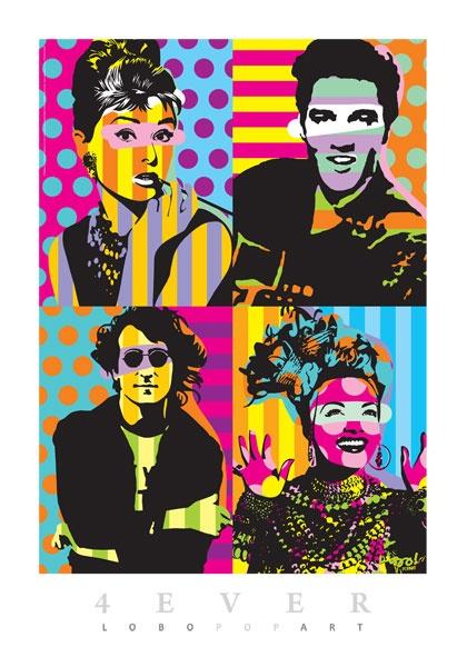 Brazilian artist Lobo - Pop Art                                                                                                                                                                                 More