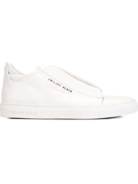 PHILIPP PLEIN Lace-Up Sneakers. #philippplein #shoes #flats