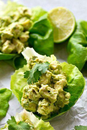 CHICKEN – Avocado Chicken Salad – Cold Make 2x recipe