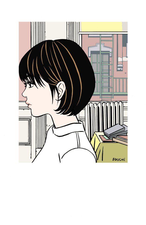 バレンタインデーに描いていた絵。江口寿史(@Eguchinn)さん | Twitter