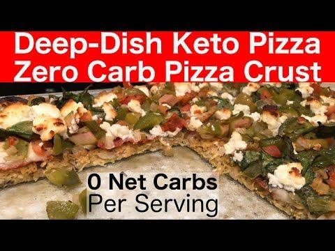 This no carb pizza crust recipe crispy & delicious! With only 3 main ingredients, this keto pizza crust is flavorful & holds up after adding toppings.