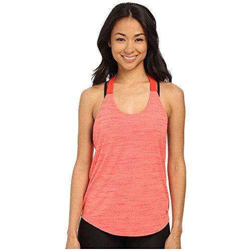 (ナイキ) Nike レディース トップス タンクトップ Dri-FIT Elastika Heathered Tank Top 並行輸入品  新品【取り寄せ商品のため、お届けまでに2週間前後かかります。】 表示サイズ表はすべて【参考サイズ】です。ご不明点はお問合せ下さい。 カラー:Light Wild Mango/Light Crimson