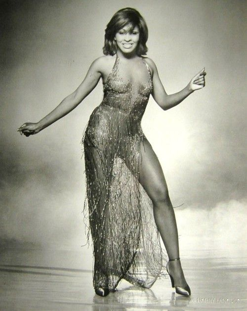 Tina Turner in Bob Mackie. I'm your private dancer, dancer for money ... do anything you want me to do ~~~~