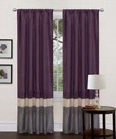 Image result for Gray and Purple Bedroom Curtains