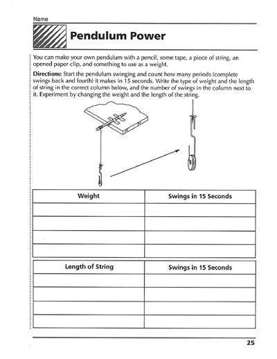 Swinging with a Pendulum