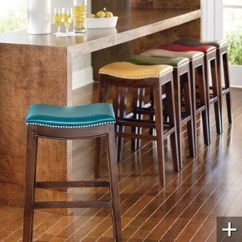 Stools Bar Stools And Leather Bar Stools On Pinterest