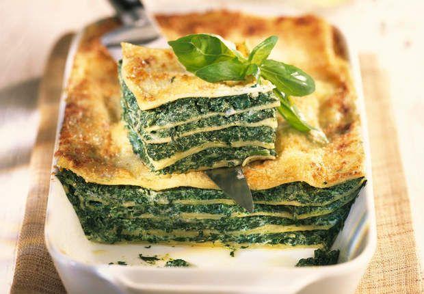 Lasagnes florentinesVoir la recette desLasagnes florentines >>