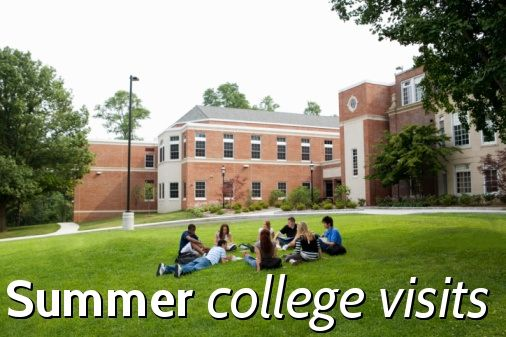 Should you visit college campuses this summer? #collegevisits #College