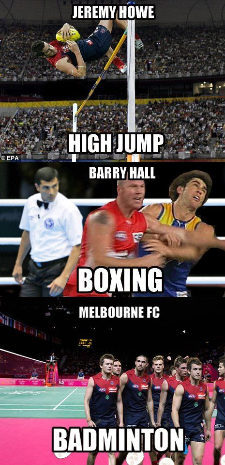 AFL players are good at other sports too!