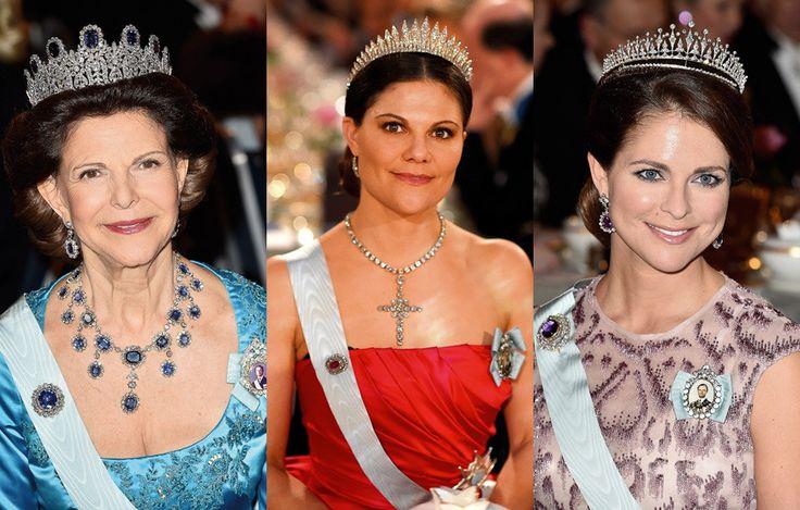 Joias da realeza sueca em destaque nos prémios Nobel