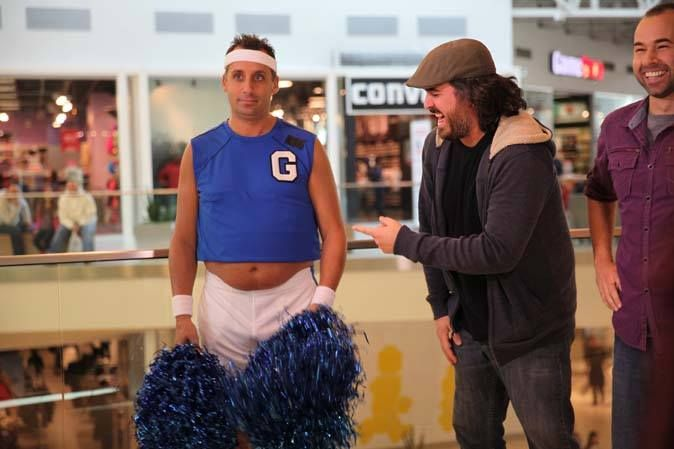 Cheerleader Joe..  Impractical Jokers