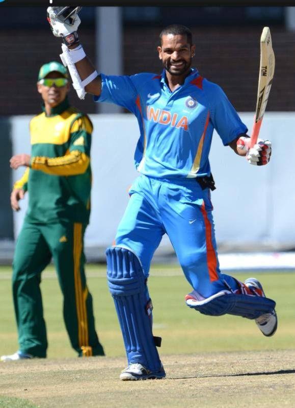 Shikhar Dhawan blasts 248 runs in 150 balls!