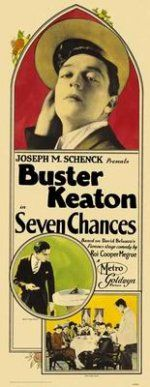 Seven Chances is a 1925 American comedy silent film directed by and starring Buster Keaton, based on a play written by Roi Cooper Megrue, produced in 1916 by David Belasco. Additional casts members include T. Roy Barnes, Snitz Edwards, Ruth Dwyer, and others. The film also stars Jean Arthur, a future 1930s screwball actor, in an uncredited supporting role as a telephone operator. Also stars Jean Arthur as a receptionist at the country club.