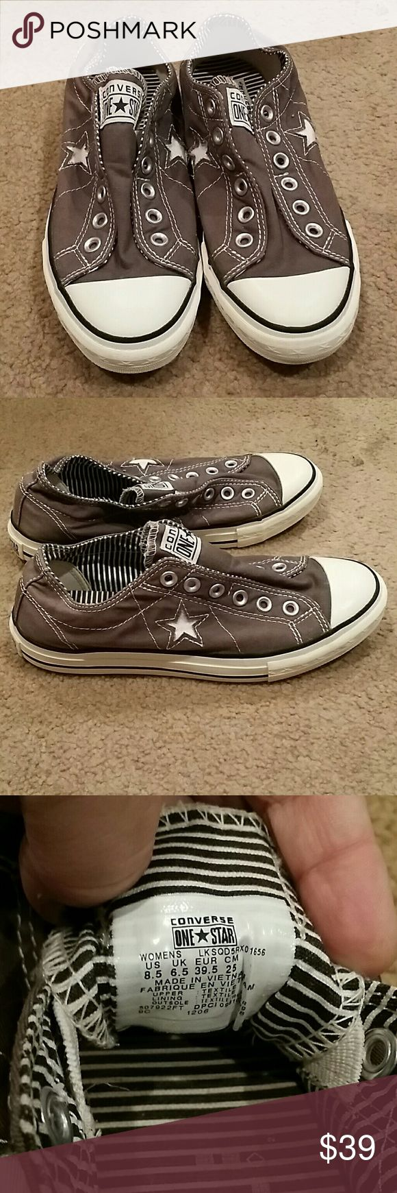 converse one star no laces