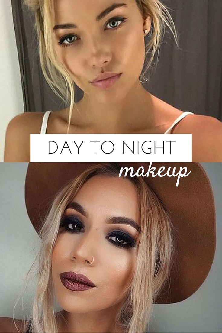Make an easy transition from day to night this Spring Break. Perfect makeup for the beach can easily be turned into an evening look.
