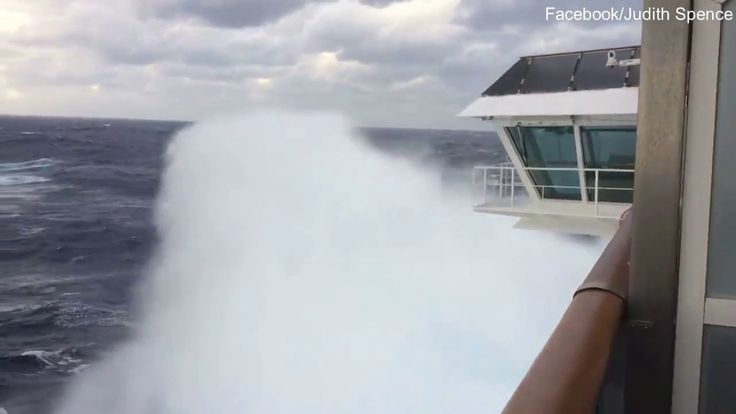 nice Carnival Spirit cruise ship struck by 100km/h winds with above 2000 passengers on board