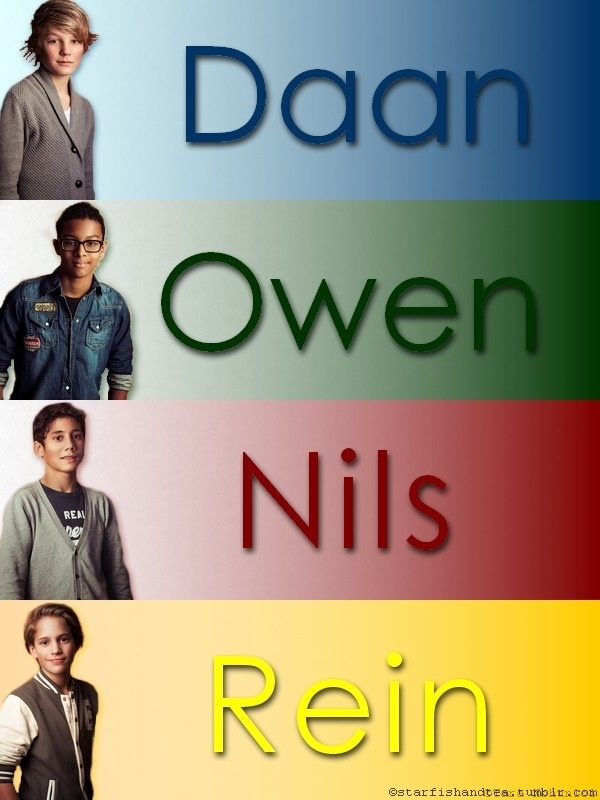 Daan, Owen, Nils en Rein.... als jullie er niet geweest waren