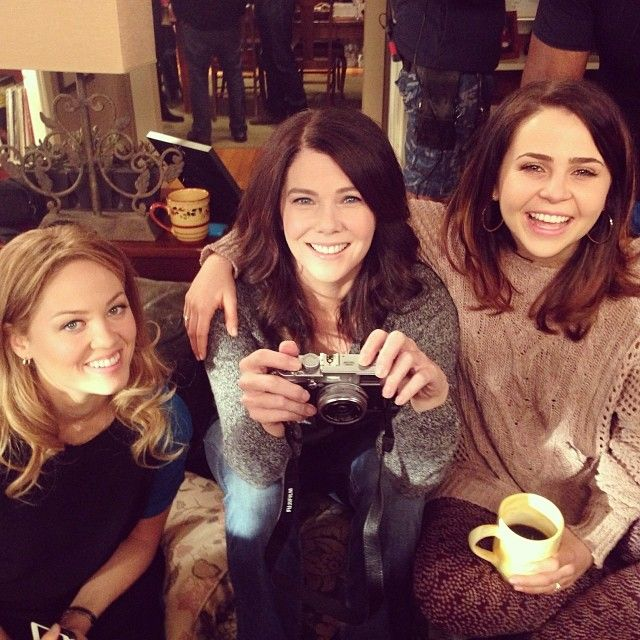 Ladies Night (photo from Mae Whitman) | #Parenthood  For my 29th birthday, can someone arrange a follow up girls night with me invited, lots of Champagne, The Who tunes and like some donuts or something?