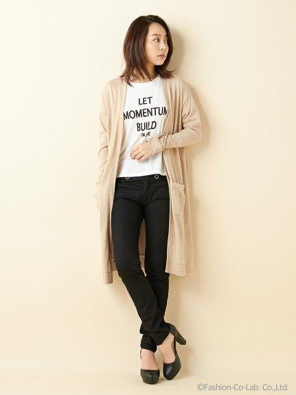 【人気アイテム】【春の新作】ロングカーデTシャツ/SET(アンサンブル)|INGNI(イング)|ファッション通販 - ファッションウォーカー