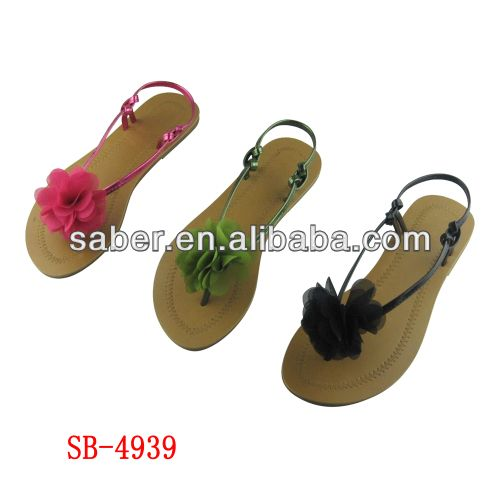 SB-4939 saber fashion flat summer sandals 2014 for women $1~$3